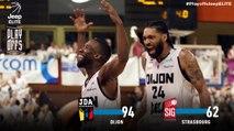 Playoffs Jeep® ÉLITE - 1/4 aller : Dijon vs Strasbourg