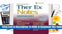 Therapeutic Exercise Notes