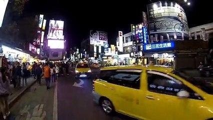 La noche de Taipei -Taiwán