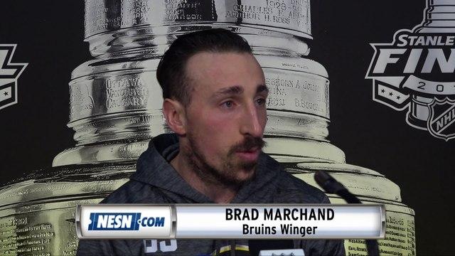 Brad Marchand On Patrice Bergeron's Leadership