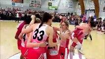 L'explosion de joie des filles de Charnay championnes de france de N2 de basket