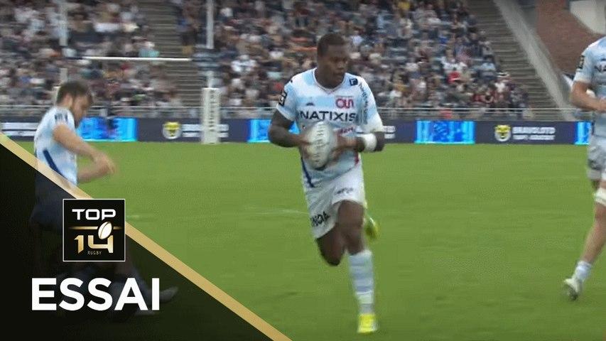 TOP 14 - Essai Virimi VAKATAWA (R92) - Agen - Racing 92 - J26 - Saison 2018/2019