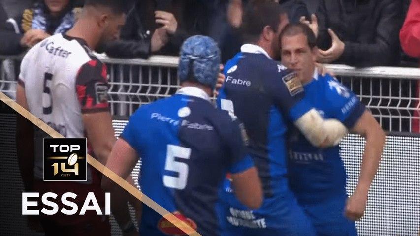 TOP 14 - Essai Benjamin URDAPILLETA (CO) - Castres - Toulon - J26 - Saison 2018/2019
