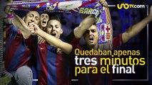 Deportes | Messi cumple 31 años y así fue su primer gol con el Barça