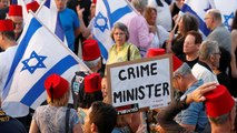 Des milliers de personnes manifestent contre Benjamin Netanyahu à Tel Aviv