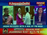 YSRCP Jagan Mohan Reddy meets PM Narendra Modi in Delhi, Received with a Hug by PM Narendra Modi