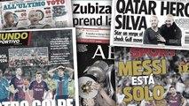 Le nouvel échec du Barça fait les gros titres en Espagne, David Silva va quitter Manchester City