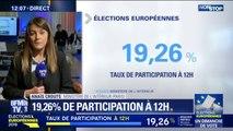 Européennes: avec 19,26%, le taux de participation à midi est en forte hausse par rapport aux précédents scrutins