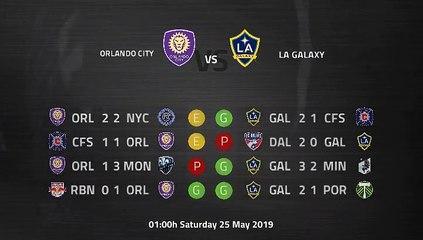 Pre match day between Orlando City and LA Galaxy Round 16 MLS