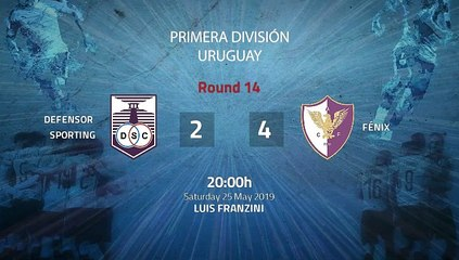 Match report between Defensor Sporting and Fénix Round 14 Apertura Uruguay
