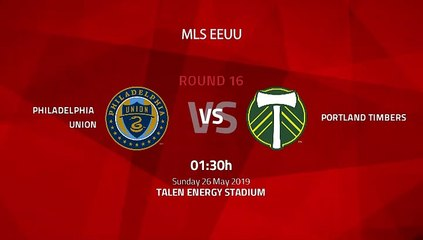 Pre match day between Philadelphia Union and Portland Timbers Round 16 MLS