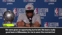 (Subtitled) 'I am not satisfied. Our goal is to win the Championship' – Lowry on NBA Finals