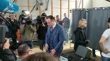 Elections 2019: Bart De Wever, N-VA,  a voté à Anvers