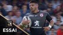 TOP 14 - Essai Romain NTAMACK (ST) - Toulouse - Perpignan - J26 - Saison 2018/2019
