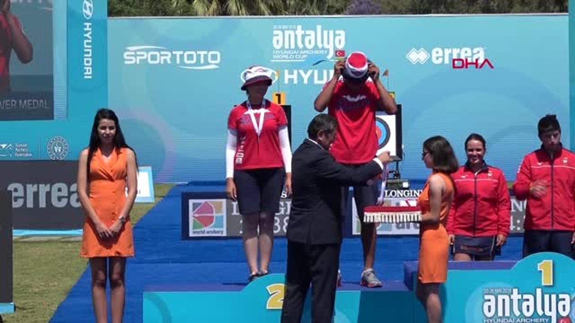 SPOR Okçuluk Dünya Kupası'nda Türkiye'ye 4 madalya