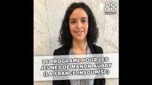 Elections europénnes: L'Europe et les jeunes selon Manon Aubry (La France insoumise)