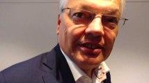Didier Reynders donne ses impressions avant les résultats des votes au siège du MR