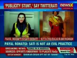 Raja Ram Mohan Roy a traitor, Sati is not an evil practice: Payal Rohtagi