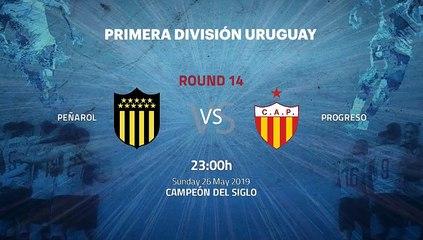 Pre match day between Peñarol and Progreso Round 14 Apertura Uruguay