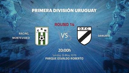 Pre match day between Racing Montevideo and Danubio Round 14 Apertura Uruguay
