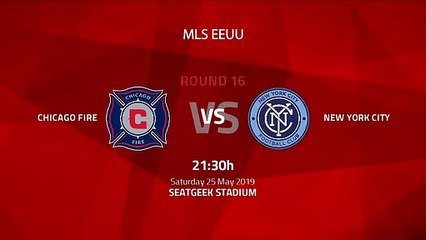 Pre match day between Chicago Fire and New York City Round 16 MLS