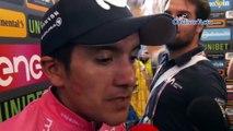 """Tour d'Italie 2019 - Richard Carapaz : """"Vincenzo Nibali est très fort... !"""""""