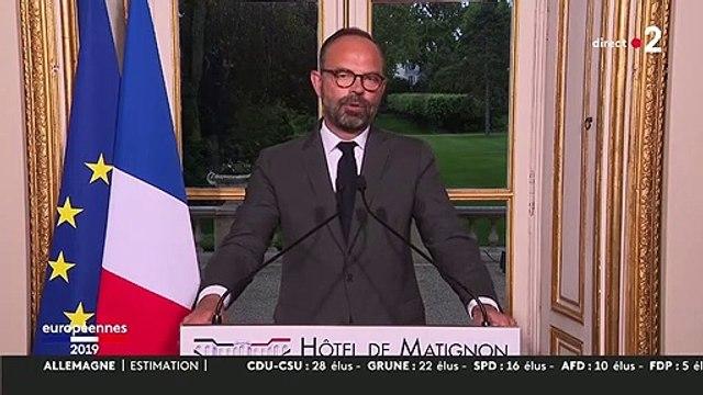 """Européennes : """"Nous avons reçu le message de nombreux Français sur l'urgence écologique"""", réagit Edouard Philippe"""