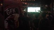 Gazişehir Gaziantep'in finale yükselmesi kentte sevinçle karşılandı