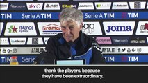 (Subtitled) 'A reward for the city' - Atalanta Champions League qualification hailed by Gasperini