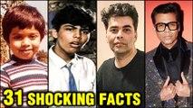 Karan Johar 31 SHOCKING UNKNOWN Facts | Happy Birthday Karan Johar