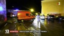 Intempéries : une coulée de boue dans les Hautes-Pyrénées