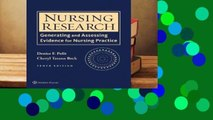 Online Nursing Research: Generating and Assessing Evidence for Nursing Practice  For Kindle