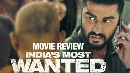 Movie Review Of India's Most Wanted | Arjun Kapoor