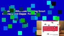 Mastering Ethereum: Building Smart Contracts and Dapps  For Kindle