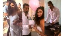 Arjun Rampal's girlfriend Gabriella Demetriade shares baby shower picture | FilmiBeat