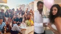 Arjun Rampal's girlfriend Gabriella Demetriade's baby shower picture goes VIRAL   Boldsky