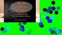 Full E-book  Web Coding Bible (18 Books in 1 -- HTML, CSS, Javascript, PHP, SQL, XML, SVG,