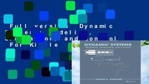 Full version  Dynamic Systems: Modeling, Simulation, and Control  For Kindle
