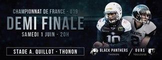 U19 - Demi Finale - Championnat de France