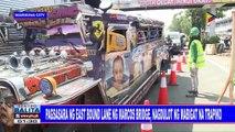 Pagsasara ng east bound lane ng Marcos Bridge, nagdulot ng mabigat na trapiko