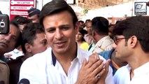 Vivek Oberoi Ignores Questions On Aishwarya Rai's Exit Poll Tweet