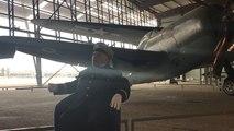75 ans après il retrouve son avion de chasse