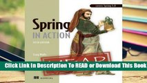 Spring in Action, Fifth Edition  Best Sellers Rank : #5