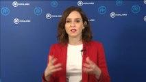 """Díaz Ayuso: """"Soy la presidenta de todos los españoles en Madrid"""""""