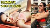 Sonal Chauhan Sets The Pool On FIRE In B!K!N! _ Summer Vocations