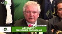 """Aziz Yıldırım: """"Bu dava Aziz Yıldırım'ın davası değil Fenerbahçe'nin davasdır"""""""