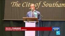 Élections européennes : Discours de Nigel Farage suite à sa victoire au Royaume-Uni