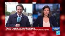"""Élections européennes : """"le discours de Nigel Farage va au-delà de la réalité"""""""