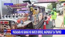 Pagsasara ng bahagi ng Marcos Bridge, nagpabigat sa trapiko