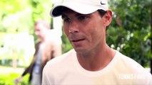 "Rafael Nadal ""It is good that Roger Federer is back"" - Roland Garros 2019 (HD)"